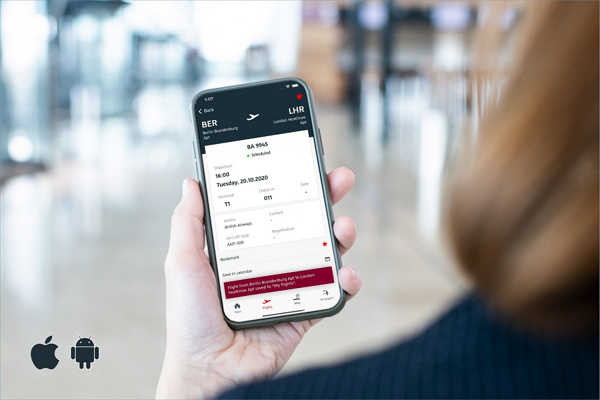 Berlin Airport (BER) App