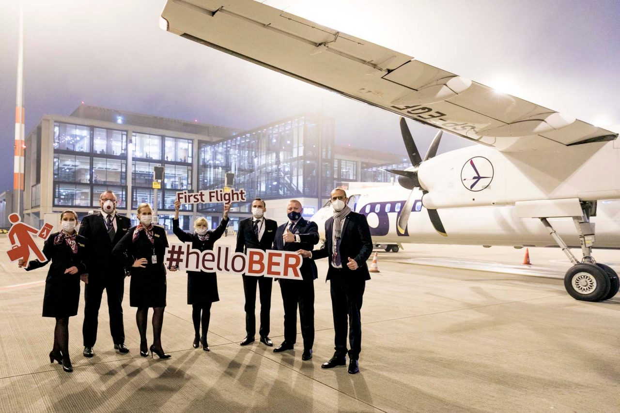 Ab sofort startet LOT Polish Airlines vom BER Terminal 1.