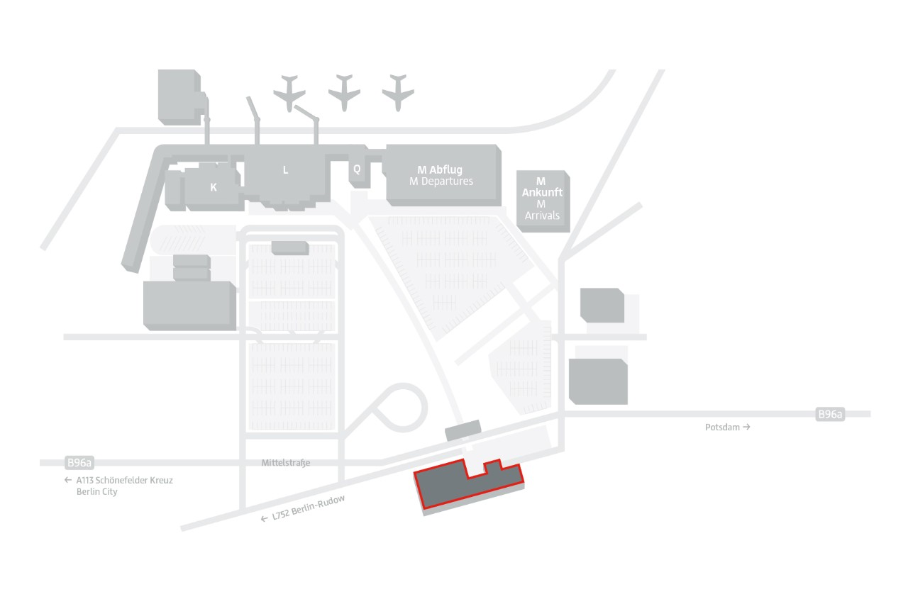Site plan IntercityHotel T5