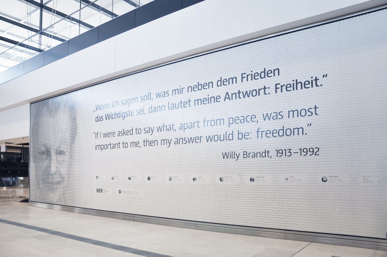 Willy Brandt Wall