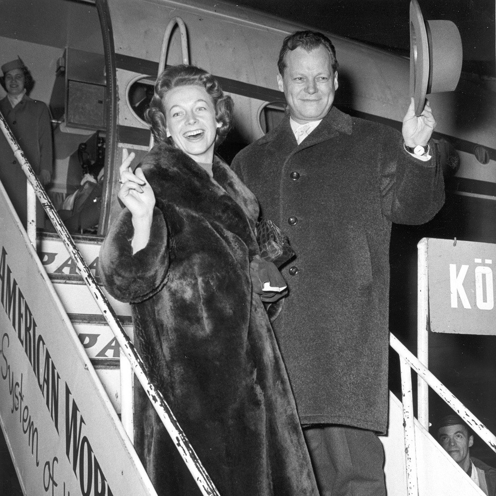 Willy Brandt and wife in 1959