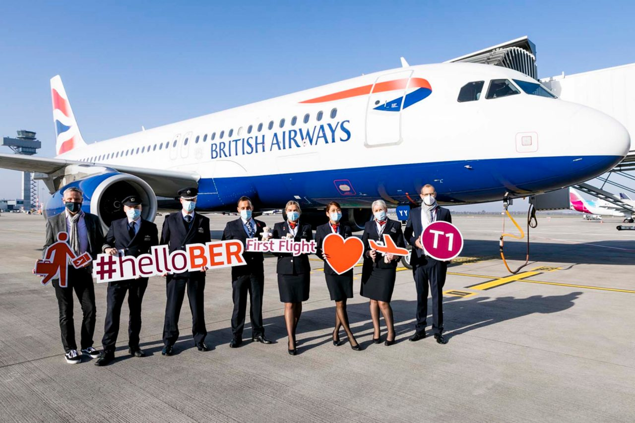 #helloBER was the motto for British Airways on November 8, which was one of the last airlines to move to BER Terminal 1.
